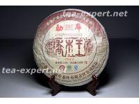 """勐库""""乔木王""""饼茶2011年(生茶) Qiao Mu Wang """"Король Цяому"""""""