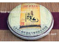 """勐库""""茶魂""""饼茶2013年(生茶) Cha Hun """"Чайная Душа"""""""