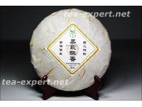 "普文""果敢陈香""饼茶2014年(熟茶) Guo Gan Chen Xiang ""Смело приходит аромат"""