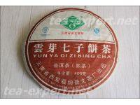 """云芽七子饼茶(熟茶)2014年 Yun Ya Qizi """"Семёрка Юнь Я"""""""