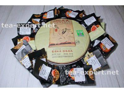 勐库一套茶(熟和生茶20个) Набор Шу и Шэнов от фабрики Мэнку