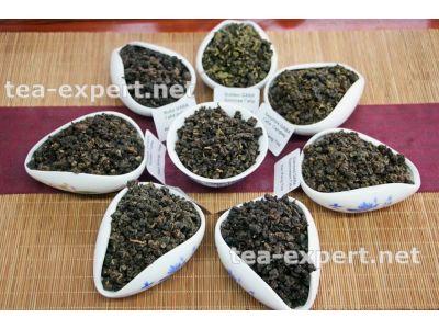 """嘎巴茶一套茶样品(8克 x 8个) """"Набор пробников чая Габа"""" (8 разных сортов)"""