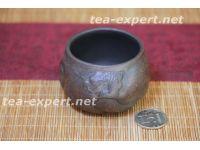 """宜兴茶杯""""鱼化龙""""110毫升 Yu Hua Long """"Рыба превращается в дракона"""""""