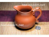 """茶海""""正义的龙碗""""300毫升(红粘土) Zhengyi De Long Wan """"Драконья чаша справедливости"""""""