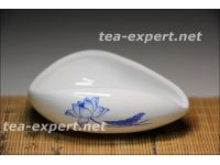 "茶荷""枝花(天蓝色的)""60毫升 Zhi Hua Chahe  Чахэ ""Цветок (лотоса) на стебле"""