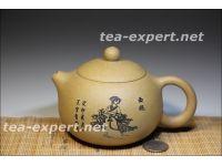 """""""西施美女""""宜兴茶壶400毫升(黄色) Xishi Mei Nǚ """"Красавица Сиши"""""""