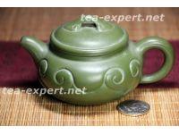 """""""小仿古如意壶""""140毫升(绿色) Xiao Fanggu Ruyi Hu """"Благополучие"""""""