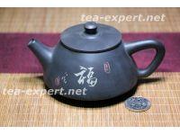 "建水茶壶""石瓢壶-福""170毫升 Shi Piao Hu - Fu ""Каменная тыква - Счастье"""