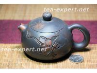 """建水茶壶""""西施""""170毫升(景象:湖和荷花) """"Озеро и лотосы"""" (Сиши)"""