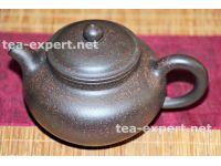 """宜兴茶壶""""仿古""""200毫升(黑朱泥) Fang Gu Hei Zhu Ni """"По древнему образцу"""""""