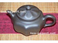 """宜兴茶壶""""八面玲珑""""270毫升(黑色) Ba Mian Ling Long """"Изворотливый"""""""