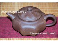 """宜兴茶壶""""八面玲珑""""250毫升(紫色) Ba Mian Ling Long """"Изворотливый"""" (коричневый)"""