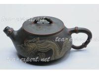 """钦州茶壶""""石瓢(龙)""""230毫升 Shi Piao Long """"Дракон"""" (мастер Ху Ин Цзя)"""