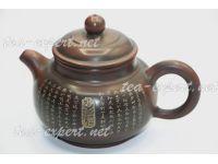 """钦州茶壶""""仿古心经""""210毫升 Fanggu Xin Jing """"Фангу - Сутра Сердца"""""""