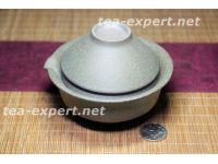 "茶具""青衣蓝""(1盖碗2茶杯) Qingyi Lan ""Весенняя одежда"""