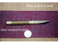 定制的普洱茶刀 Нож для пуэра индивидуального изготовления